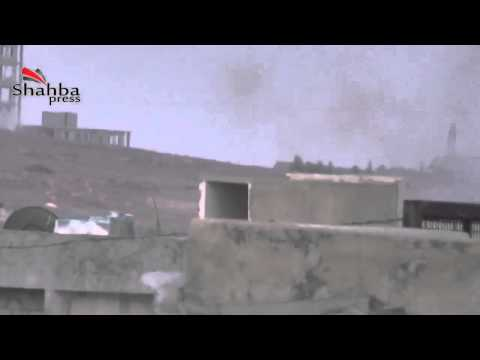 Syria #5 Aleppo countryside FSA targets at one of the strongholds 4 8 2013