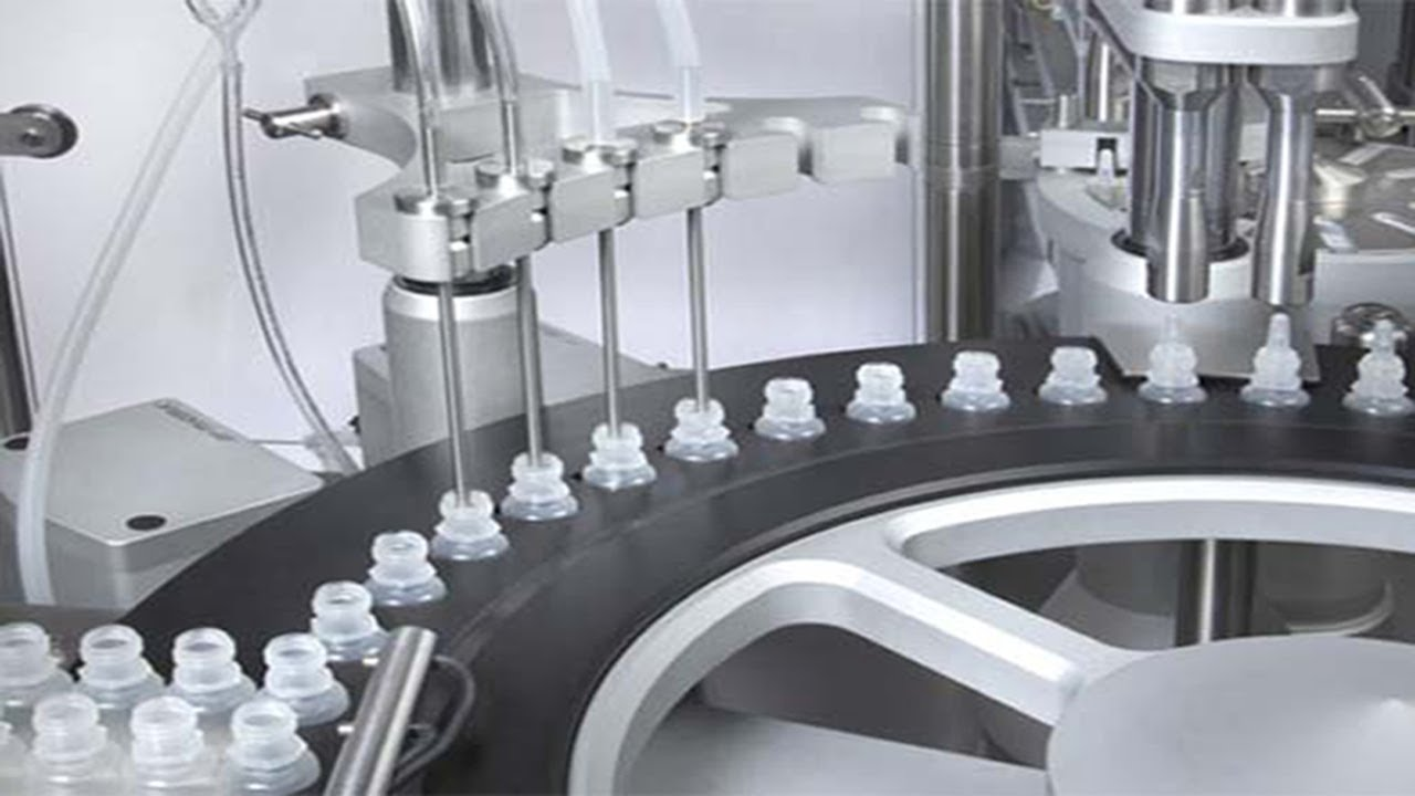 Eye Drops Filling Capping Machine With Inner Plugger Small