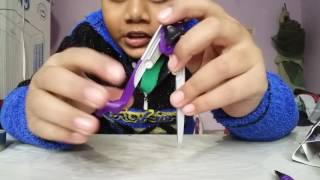 Classmate Asteroid Geometry Box Unboxing