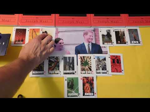 Prince Harry & Meghan- Will They Divorce? Playing Card Divination and Fortune Telling