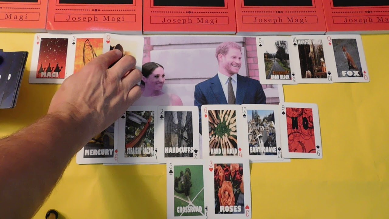 Prince Harry Meghan Will They Divorce Playing Card Divination And Fortune Telling Youtube