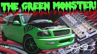 The Green Monster 30,000 WATT BASS Demo - 6 18