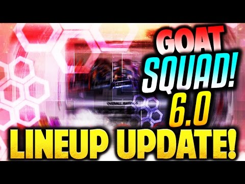 YES! BEASTLY NEW LINEUP UPDATE! NBA 2K17 GOAT SQUAD 6.0!