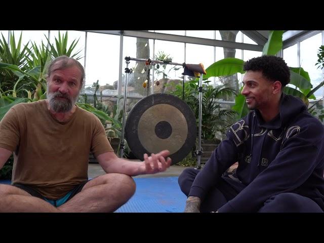 EEN IJSKOUDE COMBI ! Wim Hof en Jay over het immuunsysteem en geluk !