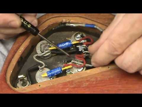 Installing pickups with braided leads in Gibson SG by Jonesyblues ...