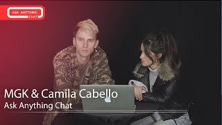 Camila Cabello Tells Machine Gun Kelly About Waiting Outside Justin Bieber's Tour Bus. Watch Now