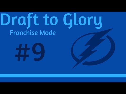 """Draft to Glory Franchise Mode - Tampa Bay Lightning #9 """"First Playoff Appearance"""" - NHL 18"""