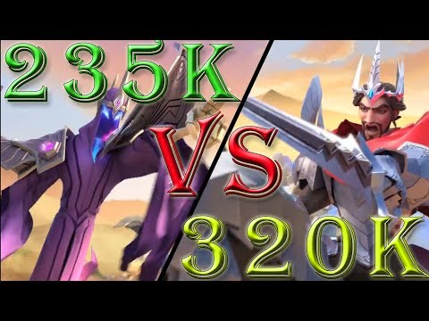 Art Of Conquest PvP Battle – 235k Lich Troops Vs 320k Human Troops