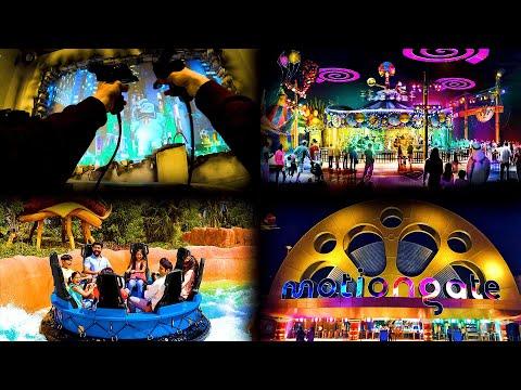Motiongate Dubai Парк развлечений. ТОП 10 аттракционов Стоимость Как добраться Моушенгейт Дубай ОАЭ