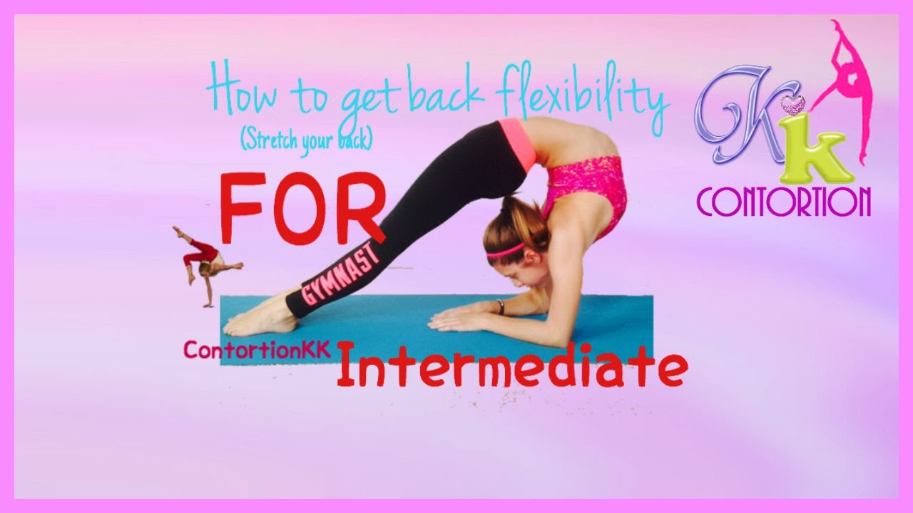 how to become flexible like a gymnast
