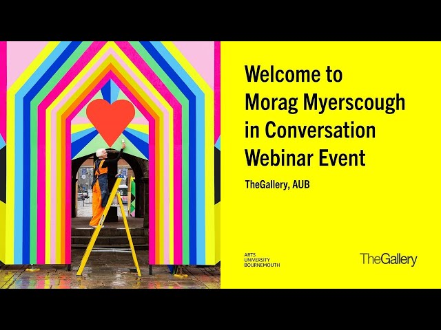 Morag Myerscough in Conversation - Formal Gallery Webinar Event