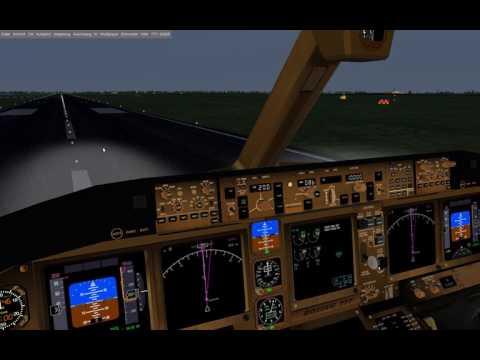 Flightgear 777-300ER EDDW nach EDDH