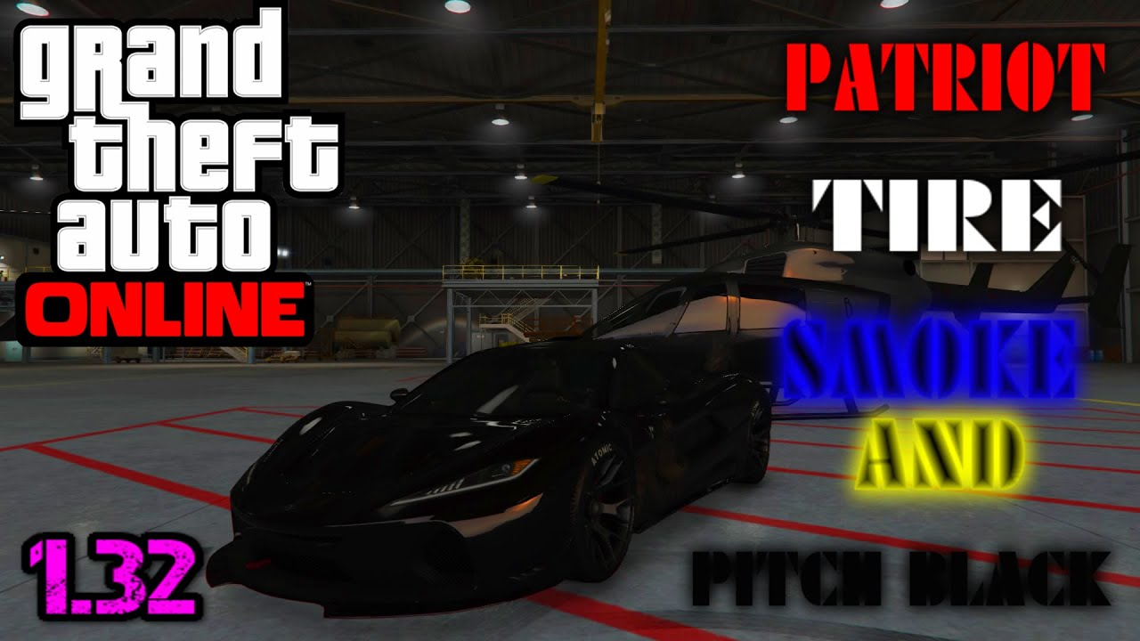 Color on online - Gta 5 Online How To Get A Pitch Black Crew Colour Patriot Tire Smoke Patch 1 32 And 1 33 Youtube
