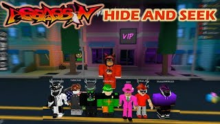 ROBLOX | ASSASSIN: HIDE AND SEEK w/ Gaming Fusion & HIS SQUAD #1
