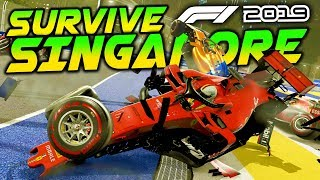 SURVIVE SINGAPORE - F1 2019 Extreme Damage Game Mod
