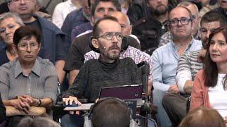 """Echenique ve """"miserable"""" definir a España por la """"agresividad"""" hacia Cataluña"""