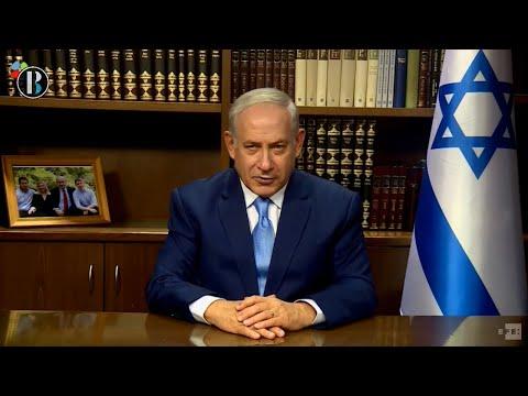 """Netanyahuagradece """"decisión justa y valiente"""" de Trump sobre Jerusalén"""