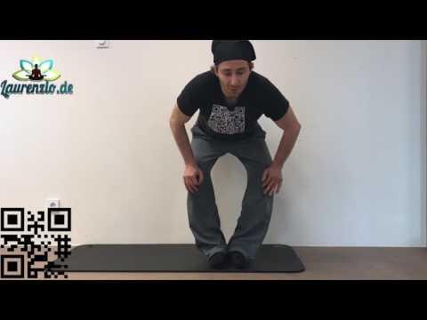 Personal Yoga Training Frankfurt - Yoga Übungen aus der Yoga Therapie für die Knie - Neu in deutsch