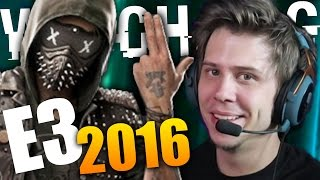 E3 2016 | EXTRANJEROS RAROS, GHOST RECON Y WATCH DOGS 2!