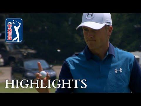 Jordan Spieth extended highlights   Round 1   Bridgestone