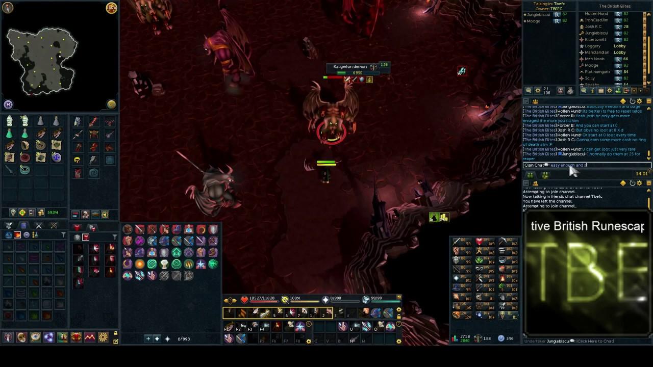 Runescape - Kal'gerion demon Slayer Task