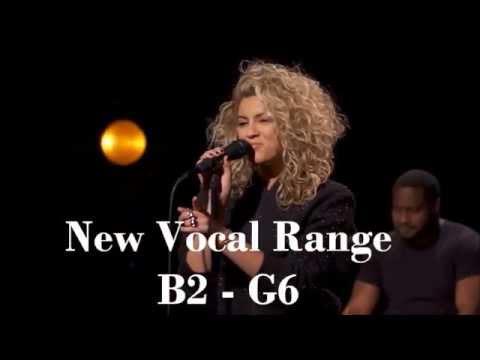 Tori Kelly - New Vocal Range (B2 - G#5 - G6)