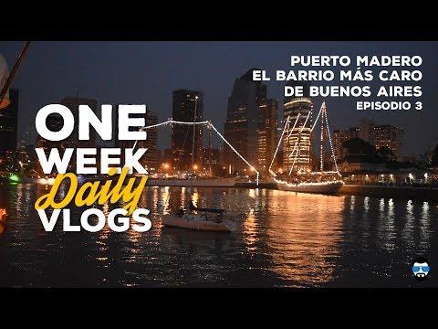 Visitando el barrio más caro de Buenos Aires   PUERTO MADERO   OWDV-E3