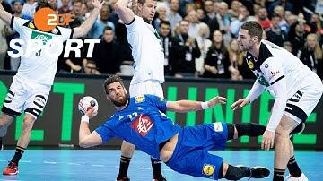 DHB-Team schafft Einzug in Hauptrunde   Handball-WM - ZDF