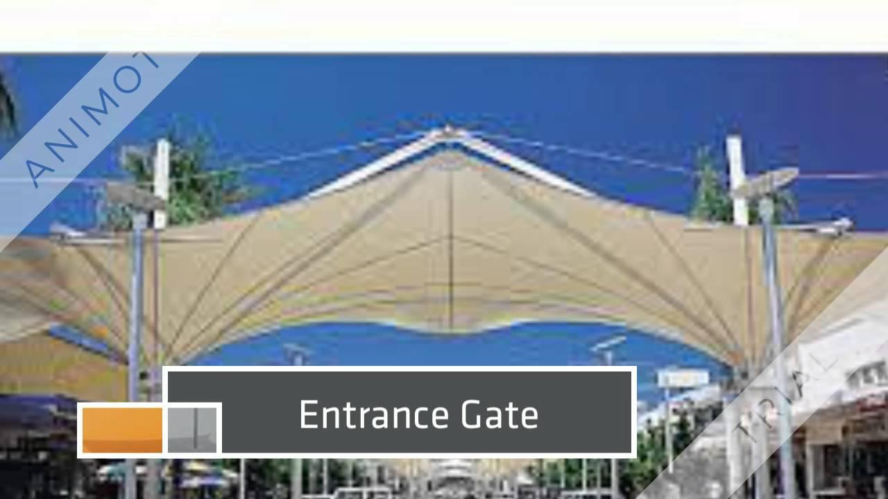 Tensile Architecture Structure YouTube - Tensile architecture