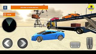 Cruise Ship Simulator: Car Transport Truck Games  - Android Gameplay FullHD screenshot 2