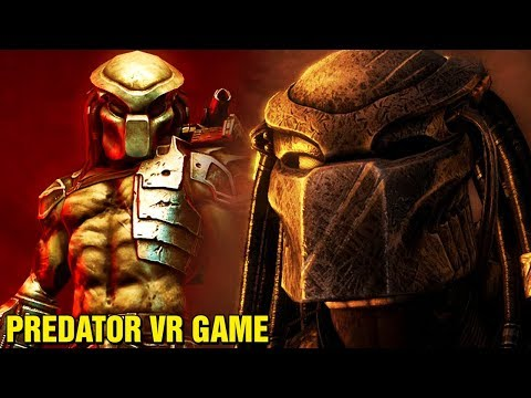 FIRST LOOK AT PREDATOR VR VIDEO GAME - WHAT HAPPENED TO THE PREDATOR FRANCHISE?