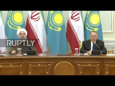 Kazakhstan: Rouhani meets with Kazakh counterpart in Astana to strengthen relations