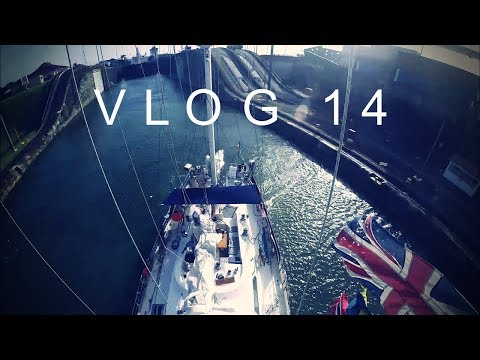 Transit Panama Canal, Atlantic here we come! - WILDFIRE SAILING VLOG 14