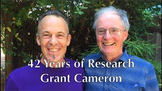 42 Years of Research Grant Cameron 23Aug2017
