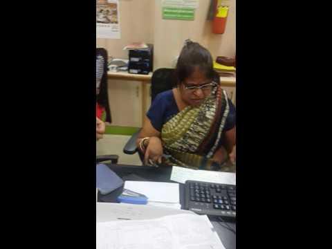 Obc bank krishna nagar Delhi. Misbehave byStaff