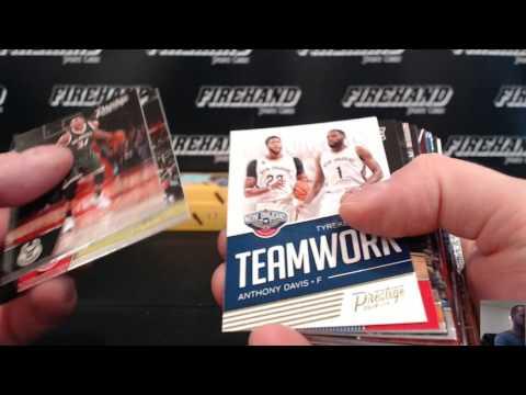 HSGarnett's 2016-17 Prestige Basketball Hobby Box Break ~ FREE WAX GIVEAWAY ~ 7/5/17