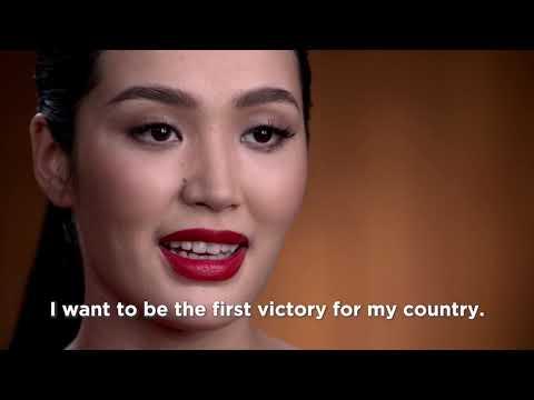 Up Close: Miss Universe Kyrgyzstan 2018
