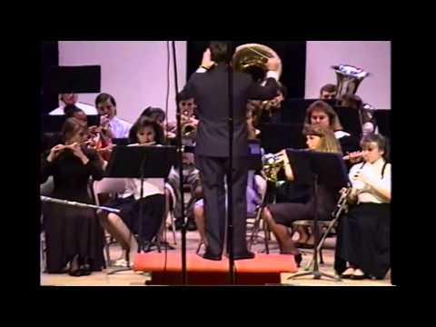South Jones High School Concert Band Spring 1992 - Noble Men March - Henry Fillmore