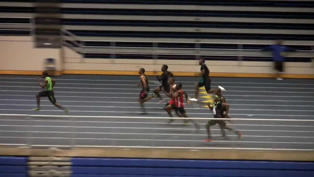 Marvin Bracy 55 meter