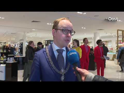 Warenhuis Hudson's Bay Enschede officïeel geopend