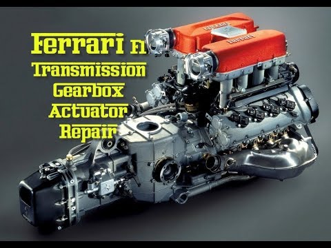 Ferrari F1 transmission gearbox problem Actuator repair and strip down 360 430 CS Part 3