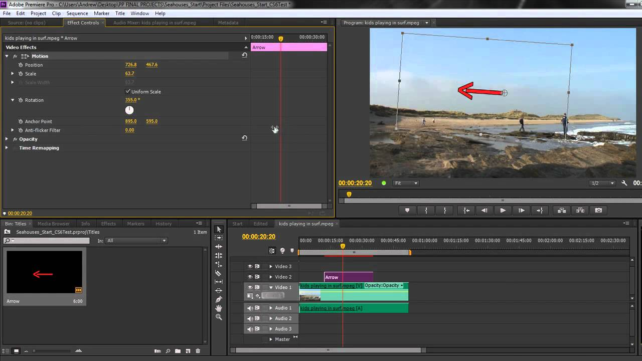 Reducing flicker in Premiere Pro CS5, CS5 5, and CS6