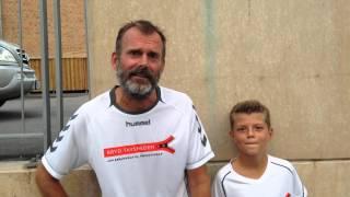 Copenhagen Half Marathon: Direktør i reklamebureauet Mantra Hans Henrik Goth og sønnen Sebastian