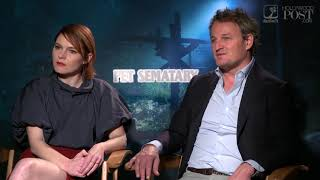 Digging into #PetSematary with Stars Amy Seimetz and Jason Clarke