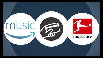 Bundesliga und Championsleague LIVE mit AMAZON || BEZAHLEN.NET