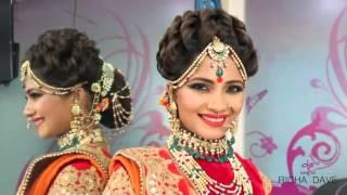 Indian bridal make up and hair by RICHA DAVE