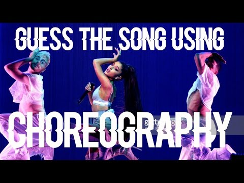 Guess the Song Only Using Choreography | Ariana Grande