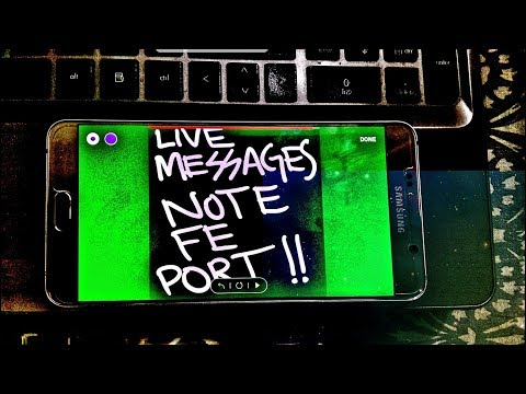 Repeat Rom Note 5 & S6 edge plus Android 7 1 1 INFINITY NOTE 8 by
