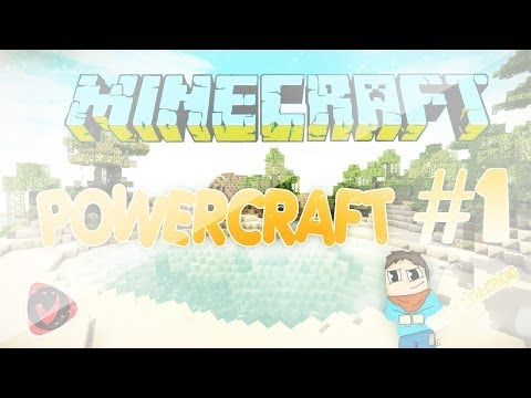 Minecraft Powercraft #1 - Inicio Epico - Sticky Resin do Capiroto !