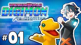 A Aventura começou! - Digimon World Re: Digitize parte 01 - Detonado em português